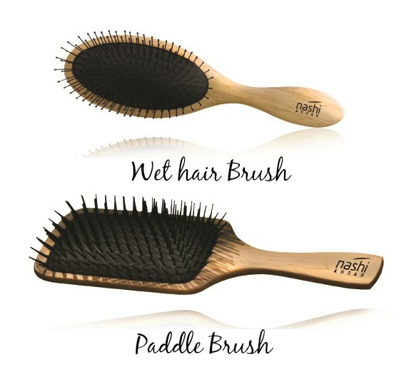 Perie profesionala Nashi Paddle Brush 2