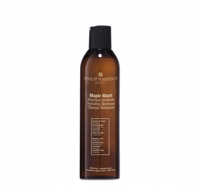Sampon hidratant pentru par uscat si fragil Philip Martins, Maple Wash 250ml 0
