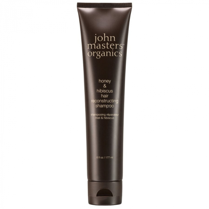 Sampon regenerator pentru par degradat cu miere si hibiscus John Master Organics, Shampoo for Damaged Hair with Honey & Hibiscus 177ml 0