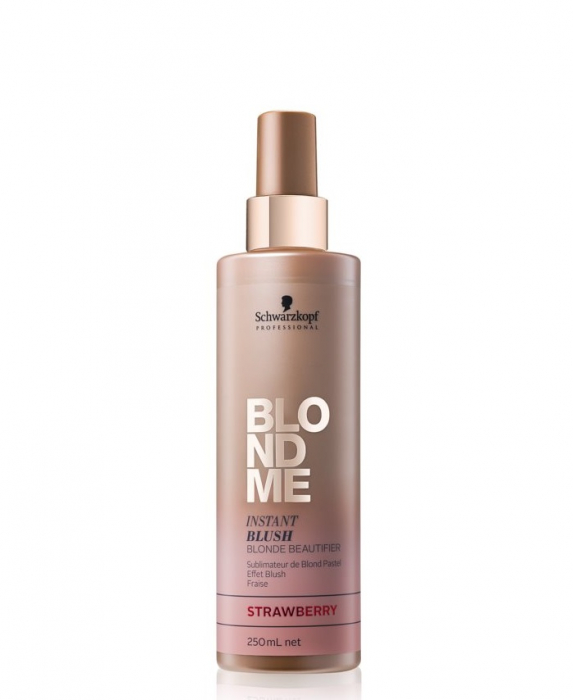 Spray tonifiant pentru par blond Schwarzkopf, Blondme Instant Blush 250ml 0