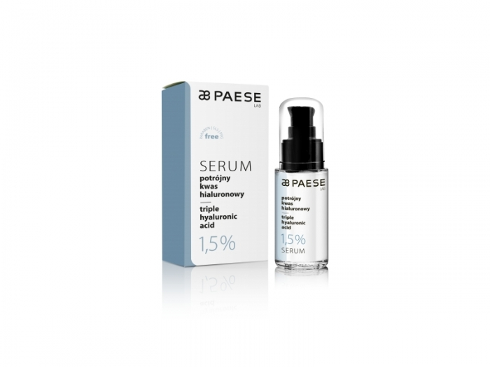 Baza ser cu acid hialuronic 1,5% Paese 30 ml 0