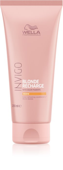 Balsam de par Wella Professionals Invigo Color Recharge Warm Blonde 200ml 0