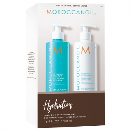 Set Sampon si Conditioner Moroccanoil Hydration 2 x 500ml0