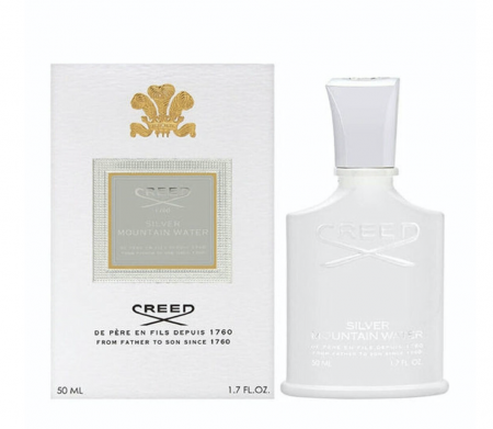 Parfum Creed Silver Mountain Water, Barbati, Eau de parfum, 50 ml