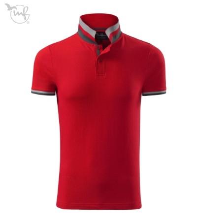 Tricou Polo pentru barbati Collar Up rosu [0]