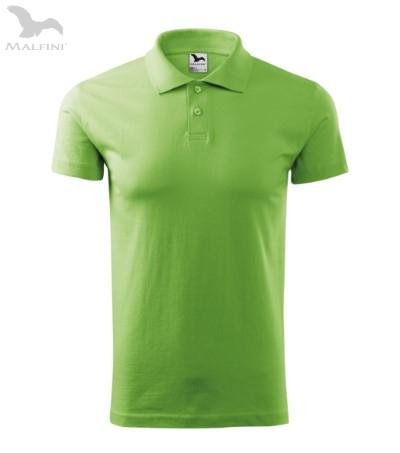 Tricou polo pentru barbati Single J, verde [0]