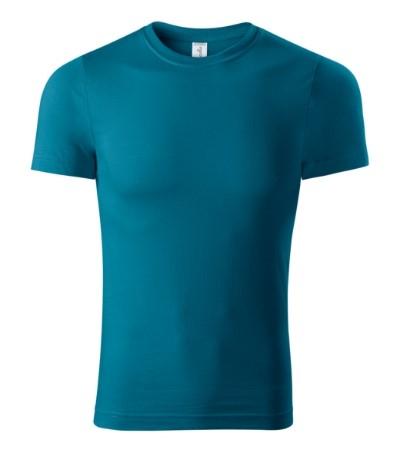 Tricou unisex Paint albastru petrol [1]