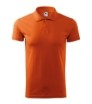 Tricou polo pentru barbati Single J, portocaliu [2]