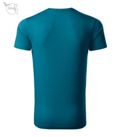 Tricou pentru barbati Action Exlusive, culoare albastru petrol [2]