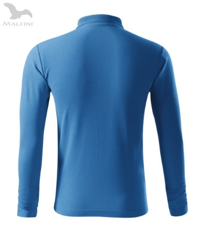 Tricou cu maneca lunga pentru barbati Picq Polo, azur [2]