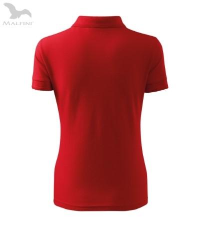 Tricou polo pentru damă Picq, rosu [2]