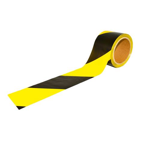 Banda de avertizare Tred, 200 m, combinatie galben/negru 0