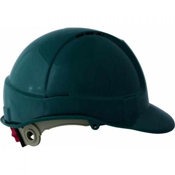Casca de protectie, SH1, reglabila, nuanta verde 0