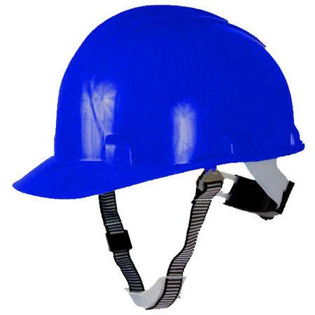 Casca de protectie Walter, prindere cu banda ajustabila, culoare albastra 0