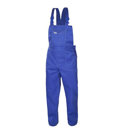 Costum de lucru Artmas blue, pantaloni cu pieptar si jacheta [1]