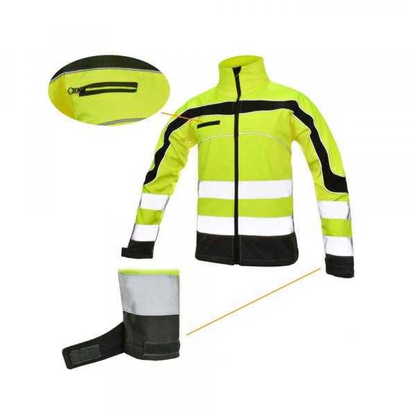 Jacheta reflectorizanta din softshell  Softflex, impermeabilitate ridicata 1
