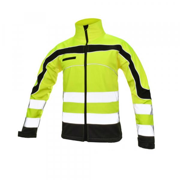 Jacheta reflectorizanta din softshell  Softflex, impermeabilitate ridicata 0