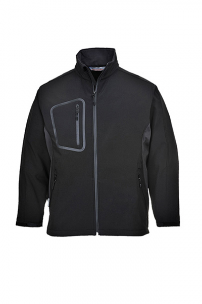 Jacheta barbati din softshell Portwest, captusita cu fleece 0