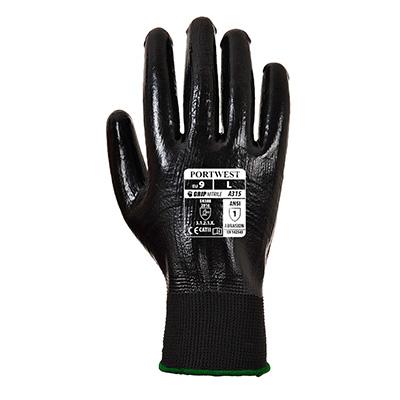 Manusi de protectie A315, impregnate cu nitril, marimea XL 1