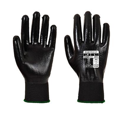 Manusi de protectie A315, impregnate cu nitril, marimea XL 0