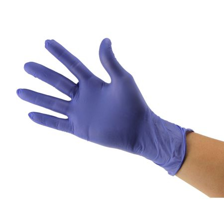 Manusi de examinare New Soft Touch, nuanta albastru, 100 buc/cutie 0