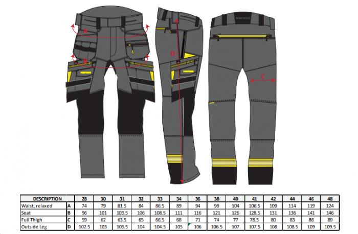 Pantaloni de lucru 5