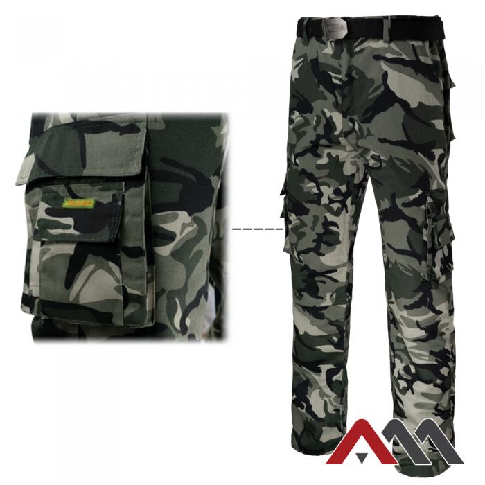 pantaloni protectie camuflaj 2