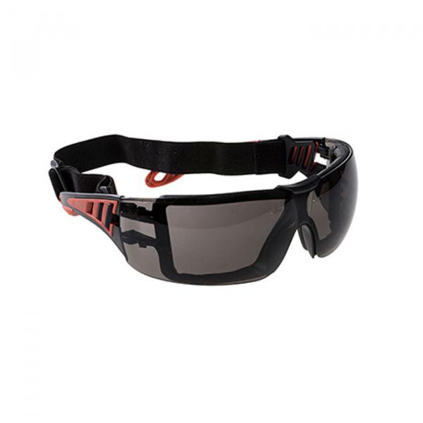 Ochelari de protectie, PS11, brate flexibilie, fumurii 0