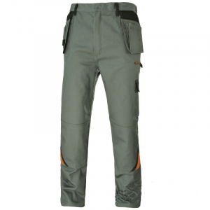 Pantaloni de protectie gri [0]