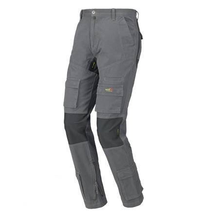 Pantaloni de protectie gri 0