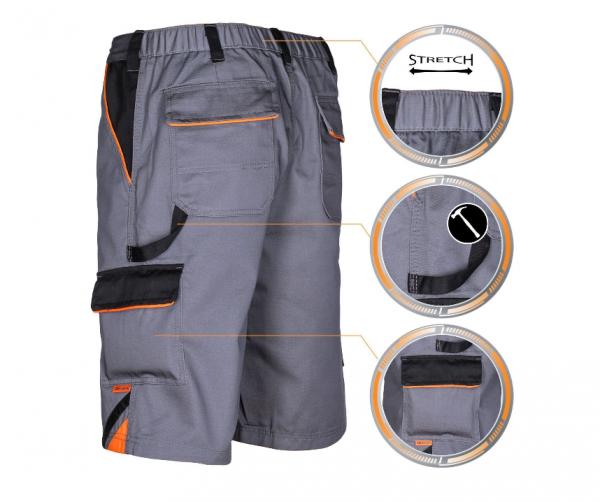 Pantaloni scurti de lucru din material rezistent [0]