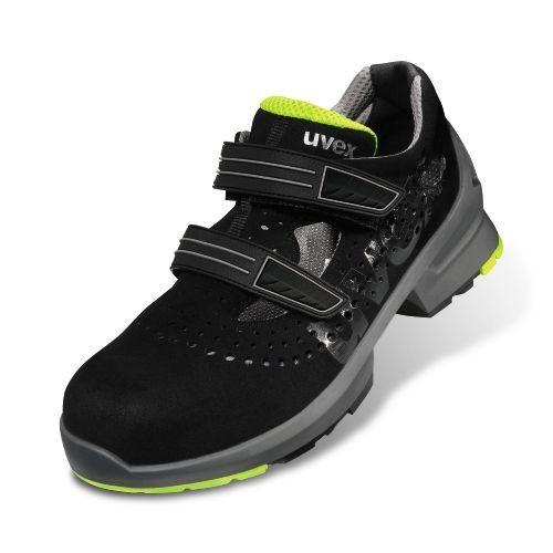 Pantofi de protectie din piele intoarsa Uvex, 8542, clasa protectie S1 1