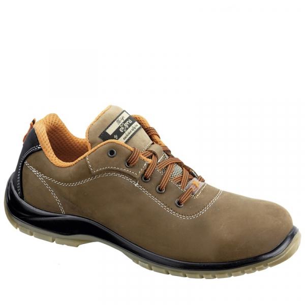 Pantofi din piele naturala cu bombeu 1