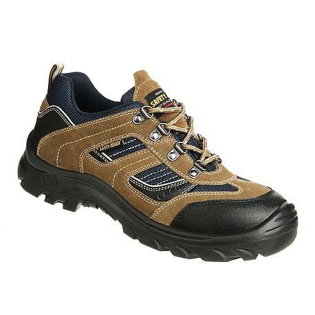 Pantofi de protectie cu bombeu compozit, piele naturala 0