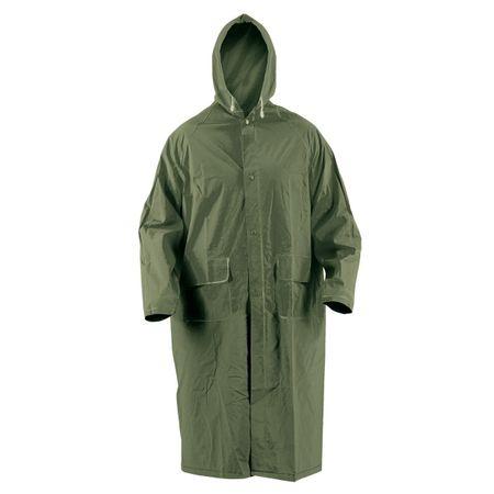 Pelerina de ploaie cu gluga Cetus, verde 0