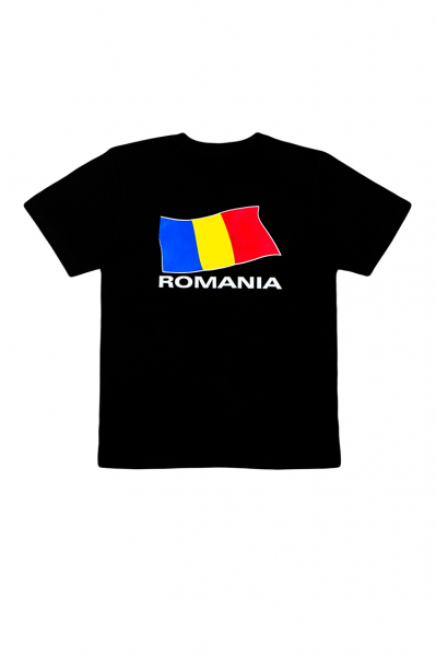 Tricou imprimat Drapelul Romaniei 0