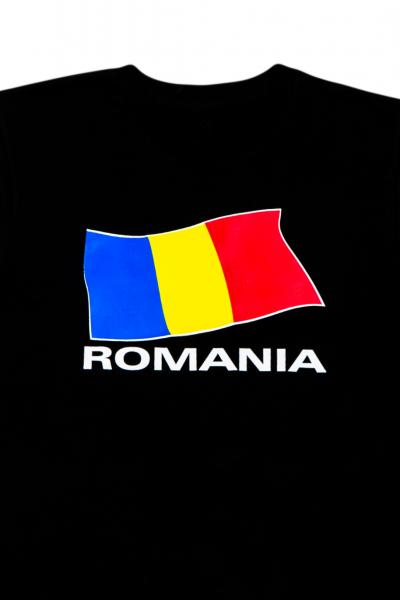 Tricou imprimat Drapelul Romaniei 1