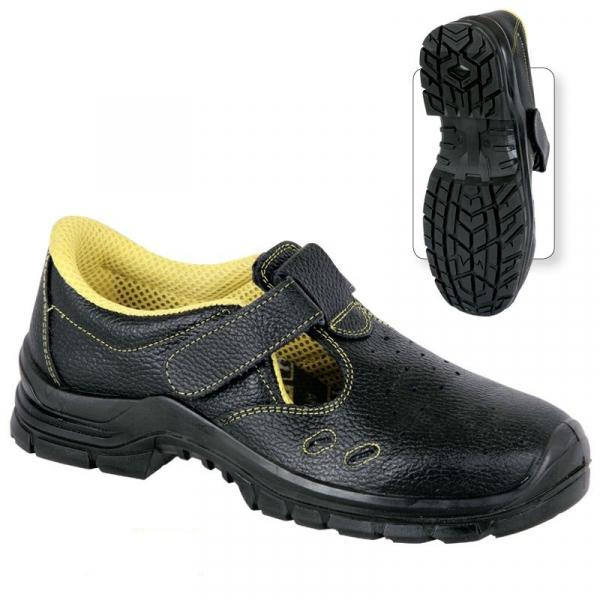 Sandale protectie din piele Lucina, clasa de protectie S1 0