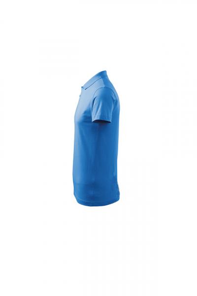 Tricou polo pentru barbati Single J, albastru marin 2