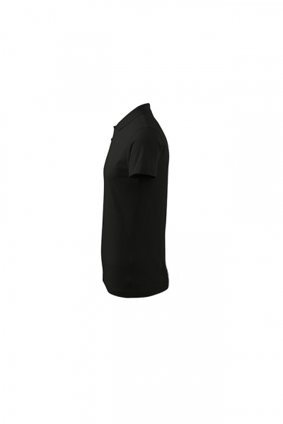 Tricou polo pentru barbati Single J, nuanta black 3