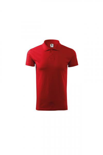 Tricou polo pentru barbati Single J, rosu 0