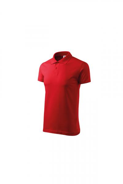 Tricou polo pentru barbati Single J, rosu 2