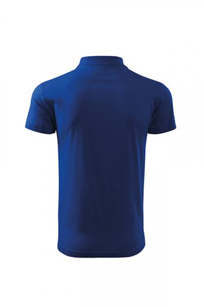 Tricou polo Single J, albastru royal [2]