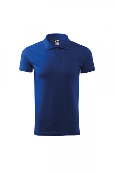 Tricou polo Single J, albastru royal [0]