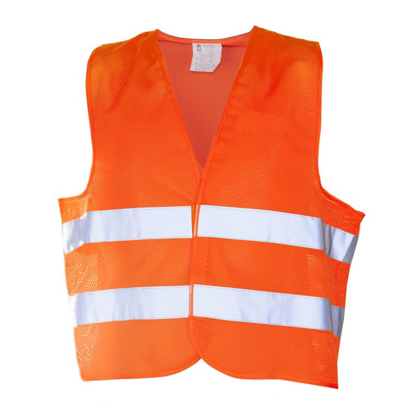 Vesta de protectie Kam, sezon vara, culoare portocaliu, marime unica 0