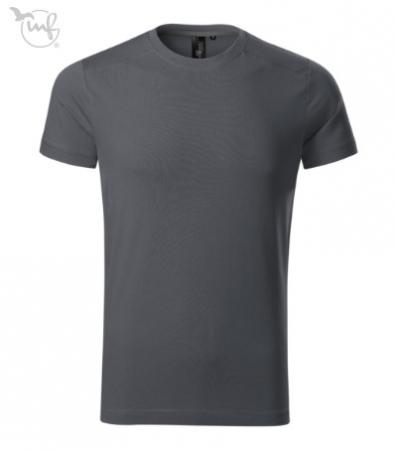 Tricou pentru barbati Action, culoare gri antracit [0]