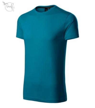 Tricou pentru barbati Action Exlusive, culoare albastru petrol [0]
