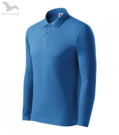 Tricou cu maneca lunga pentru barbati Picq Polo, azur [0]