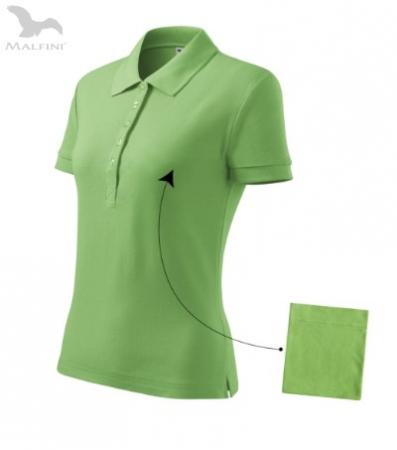 Tricou polo pentru damă Cotton, verde [0]
