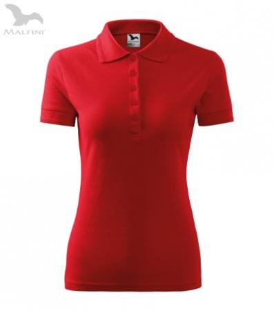 Tricou polo pentru damă Picq, rosu [0]